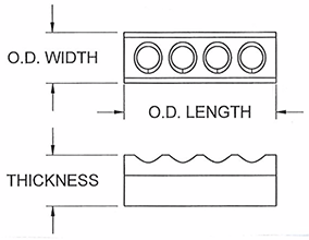 standard band heaters insulators